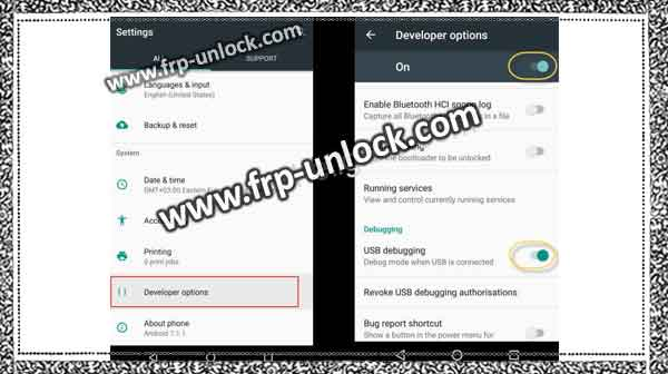 How to bypass the Google Account Galaxy J7 Plus, remove FRP
