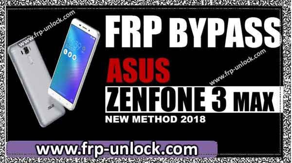 Brand new method BypassFRP ASUS Zenfone 3 by SP Max Flash Player