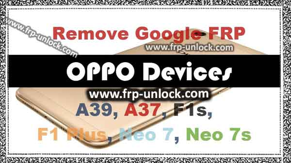 bypass google account frp oppo